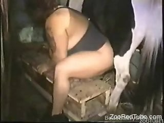 BBW with thick legs getting fucked by a stallion