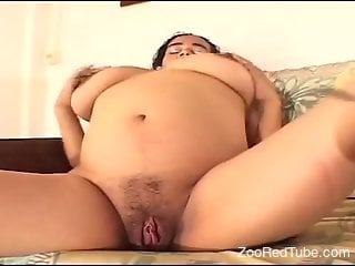 Exposed mature is pleased to shake such massive inches in her cunt